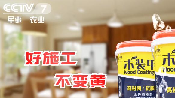 """2019海顺水漆""""木装甲""""强势登陆央视广告 彰显品牌实力!"""